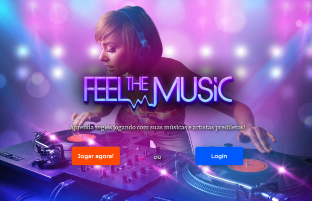 Feel-The-Music-homepage